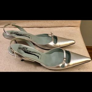 Belle by Sigerson Morrison sling backs 7.5B